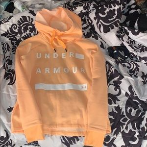 🔥NWOT!! Under Armour orange hoodie🔥